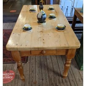 6ft Farmhouse Table Tables and Islands