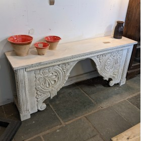 White Console Table Tables and Islands