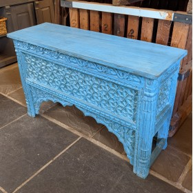 Blue Console Table Tables and Islands