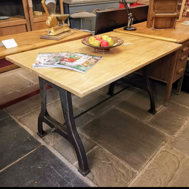 Industrial Style Table The Workshop