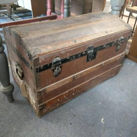 Domed Travel Trunk Trunks, Chests and all the rest