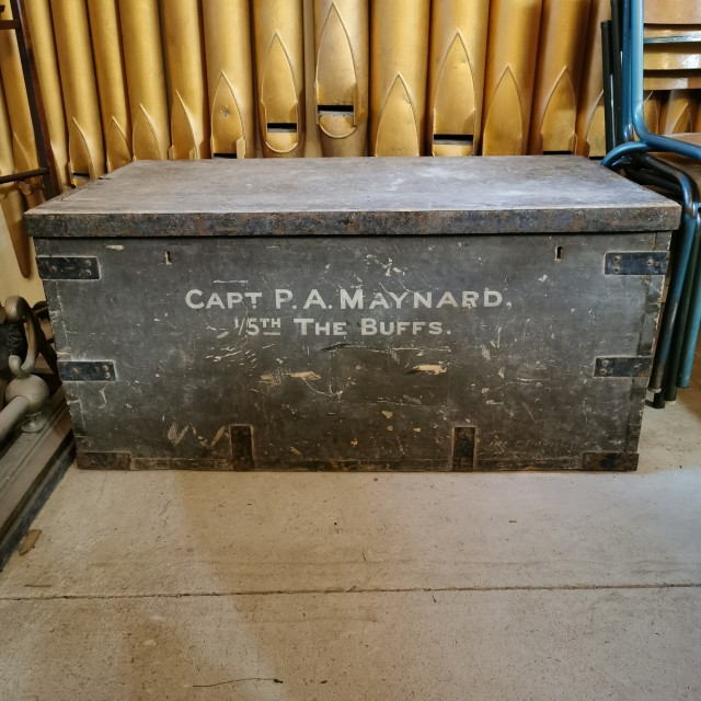 """3ft6"""" Metal Bound Pine Trunk Trunks, Chests and all the rest"""