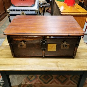 Wooden Top Trunk Trunks, Chests and all the rest