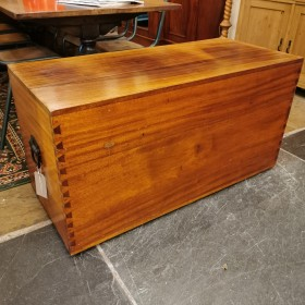 Mahogany Blanket Box Trunks, Chests and all the rest