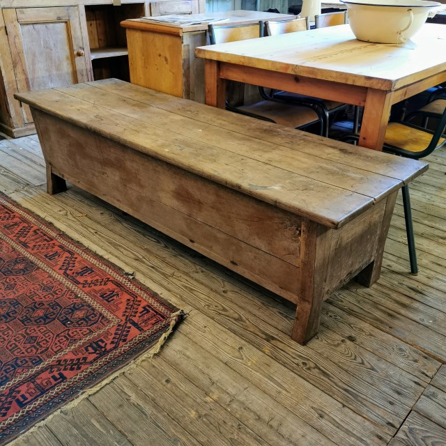 French Oak Coffer Tables and Islands