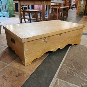 Antique Pine Blanket Box Trunks, Chests and all the rest