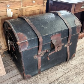 Leather Travel Trunk Trunks, Chests and all the rest