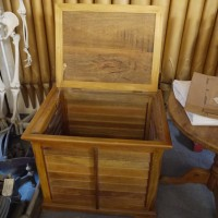 Teak Laundry Box Trunks, Chests and all the rest
