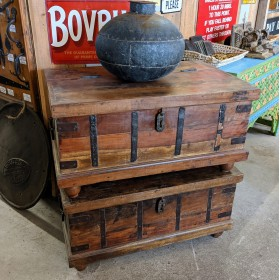 Teak Chests Trunks, Chests and all the rest