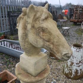 Horse's Head Statuary