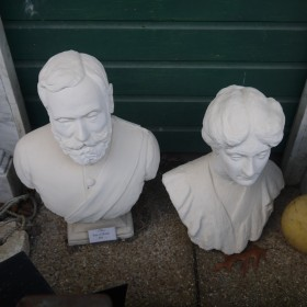 Pair of Busts Statuary