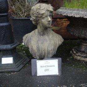 Bust Of Marieanne Statuary
