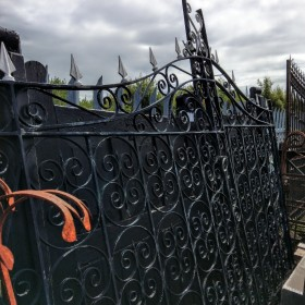 11ft Iron Gates Gates