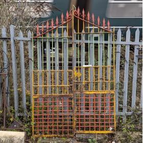 Set of Colourful Gates Gates & Railings