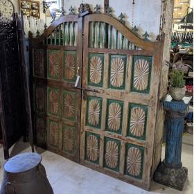 Teak Panelled Gates Gates & Railings
