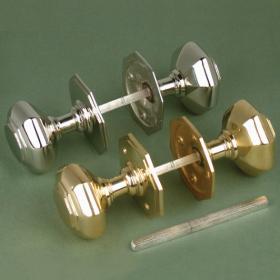 Octagonal Doorknob Doorknobs