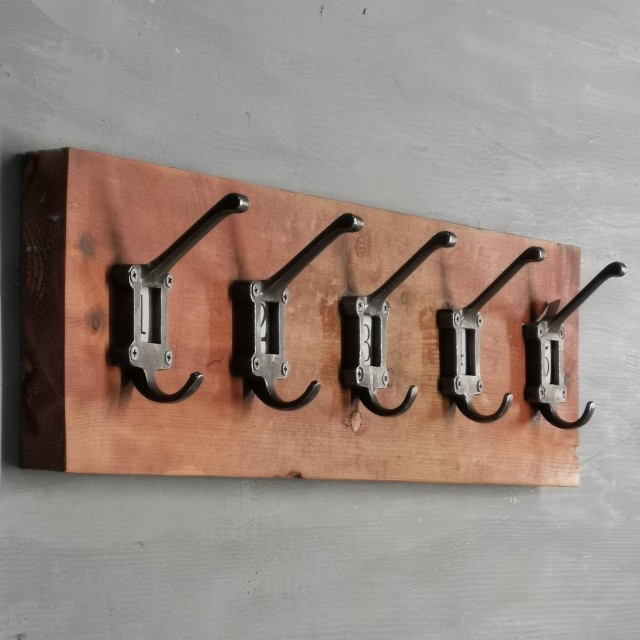 Ceramic 1-5 Hook Rack The Workshop