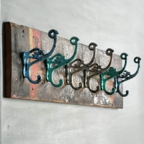 6 Hook Rack Multicoloured The Workshop