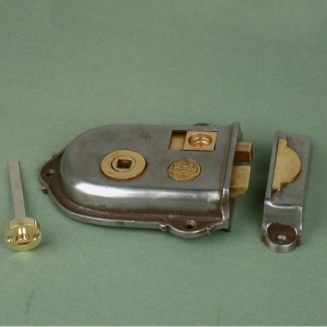 Cast Iron Cromwell Rim Latch Locks