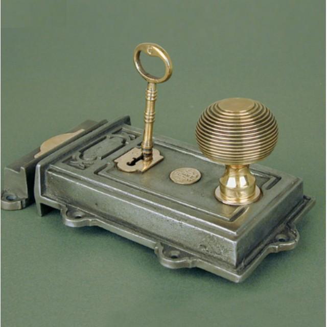 Cast Iron Davenport Rim Lock Locks
