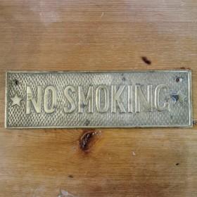 No Smoking Plaque Miscellaneous