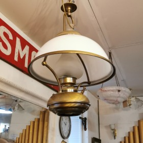 Faux Gas Lamp Ceiling Lights