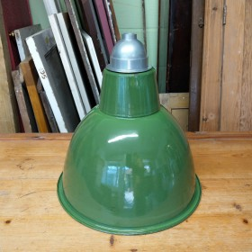 Small Green Industrial Shade Reproduction Industrial Lights