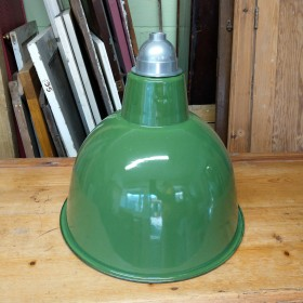 Large Green Industrial Shade Reproduction Industrial Lights