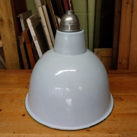 Large Blue Shade Reproduction Industrial Lights