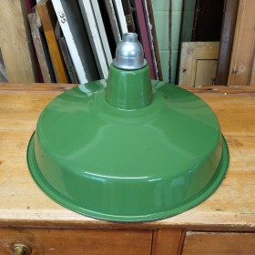 Flat Green Industrial Shade Reproduction Industrial Lights