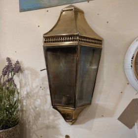 Victorian Style Brass Porch Light Lamp Posts and Tops