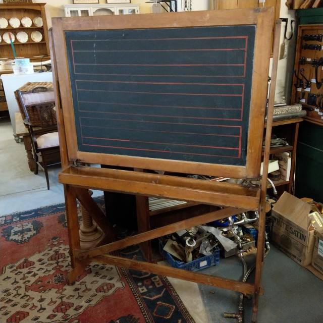 Antique Chalkboard Oddities