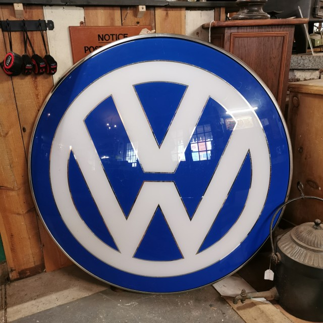 Large 3D VW Sign Oddities