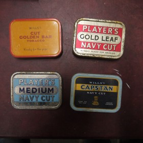 Old Tobacco Tins Oddities