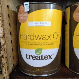 Treatex Hardwax Oil Clear 2.5 litre Hardwax Oil