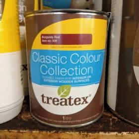 Treatex Classic Colour Burgundy 1 litre Hardwax Oil