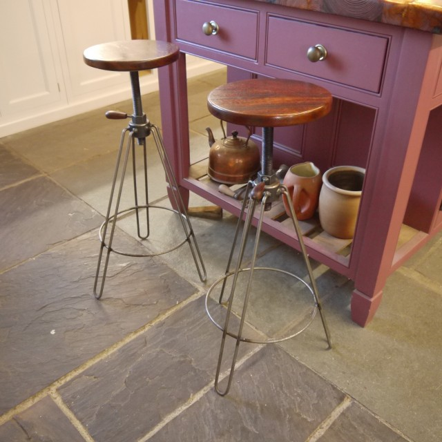 Industrial Stools From Our Workshop