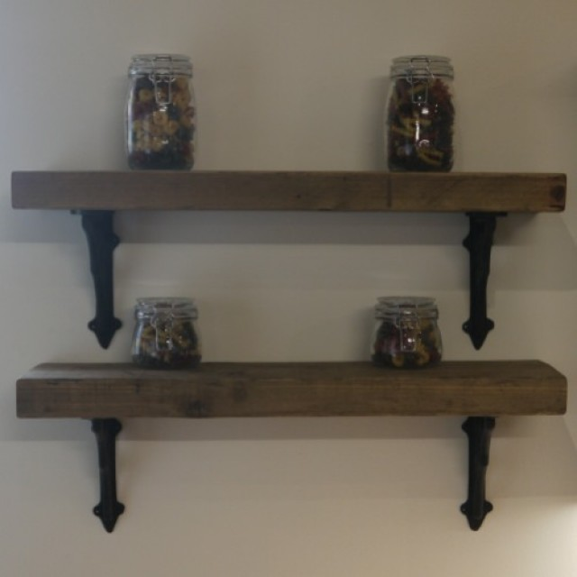 Rustic Shelves From Our Workshop