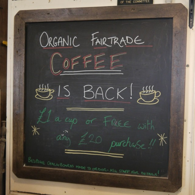 Chalk Boards From Our Workshop