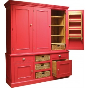 Triple Larder Cupboard Bespoke Furniture