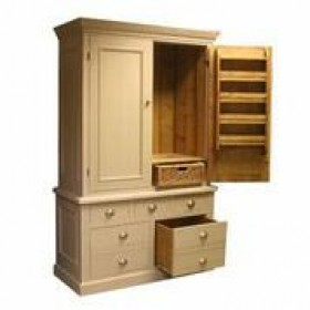Double Larder Cupboard Bespoke Furniture